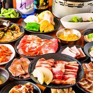 小倉の焼肉【カルビ市場】の食べ放題