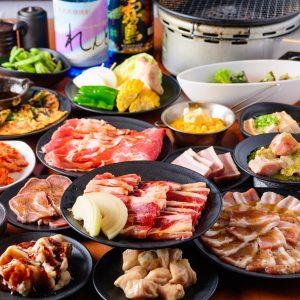 小倉で焼肉食べ放題がお得に味わえる【焼肉食べ放題 カルビ市場 小倉店】
