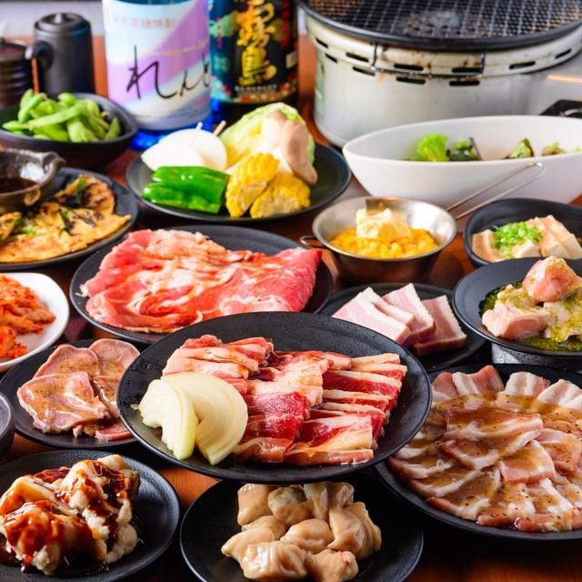 焼肉食べ放題 カルビ市場 小倉店の焼肉食べ飲み放題コース